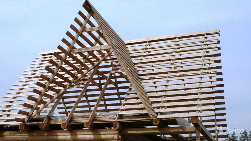 Как сделать крышу с тремя фронтонами 40