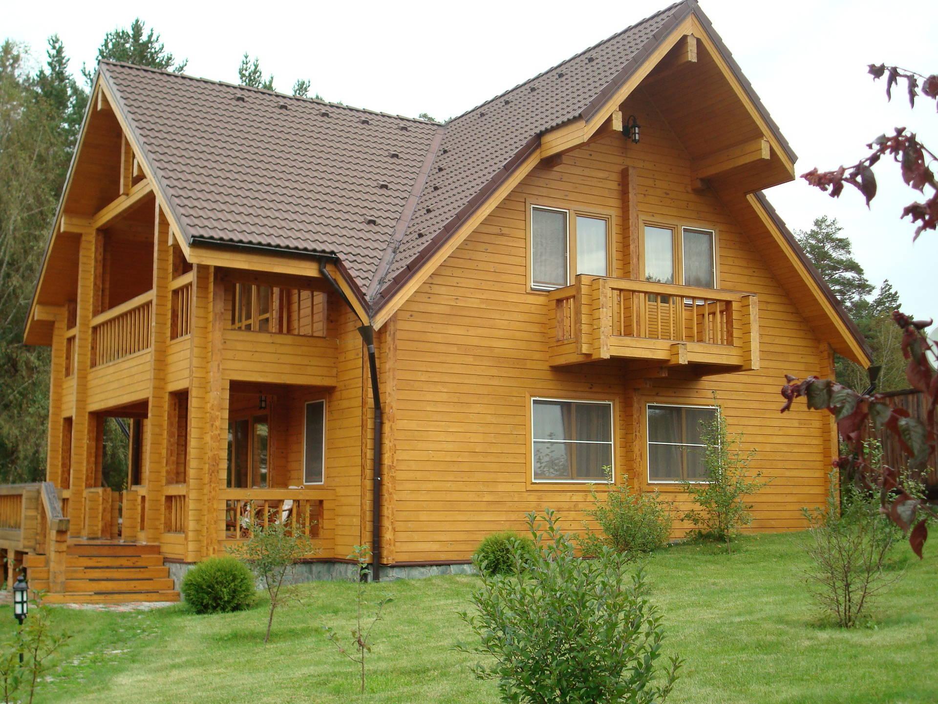 сша построенные дома из бруса фото истории этого